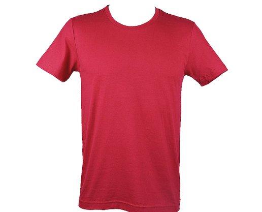 Camiseta Unissex Adulto Manga Curta Lisa HT102 Har Têxtil Bordo